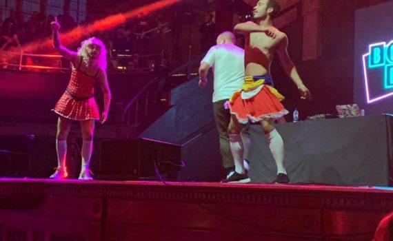 Bingo Bongo on stage