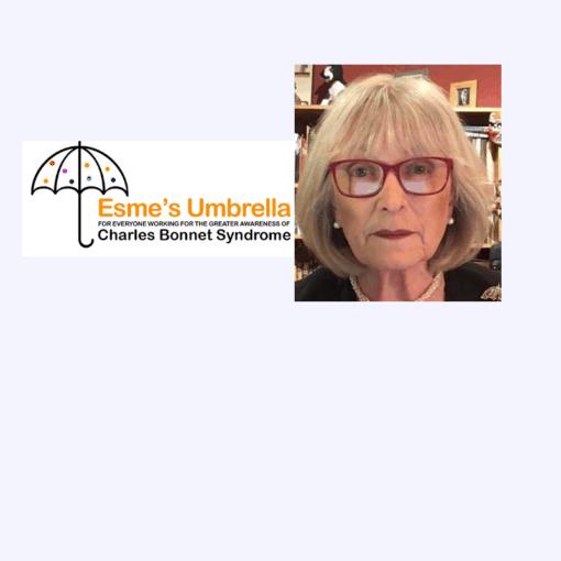 Esmes Umbrella logo with Judith Potts